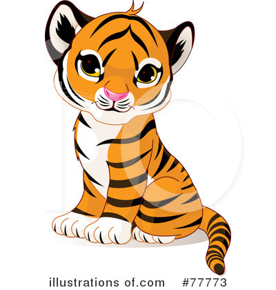 Tiger Clipart #77773 by Pushkin