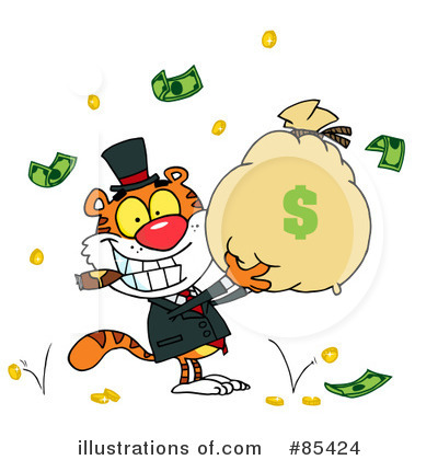 Finance Clipart #85424 by Hit Toon