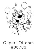 Tiger Clipart #86783 by Hit Toon