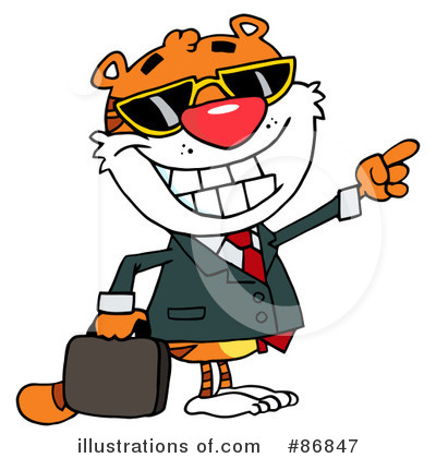 Tiger Clipart #86847 by Hit Toon
