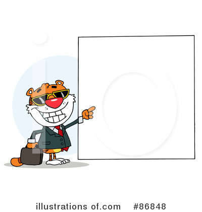 Tiger Clipart #86848 by Hit Toon