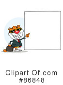 Royalty-Free (RF) Tiger Clipart Illustration #86848