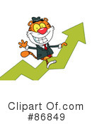 Royalty-Free (RF) Tiger Clipart Illustration #86849