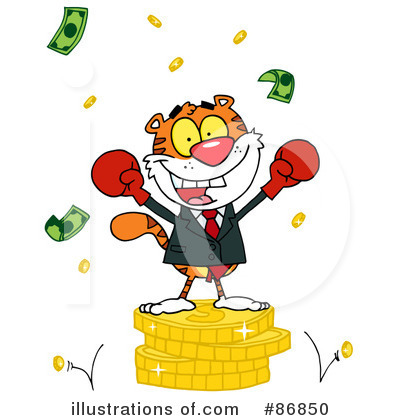 Finance Clipart #86850 by Hit Toon