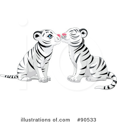 White Tiger Clipart #90533 by Pushkin