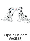 Royalty-Free (RF) tiger Clipart Illustration #90533