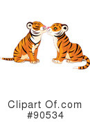 Royalty-Free (RF) tiger Clipart Illustration #90534