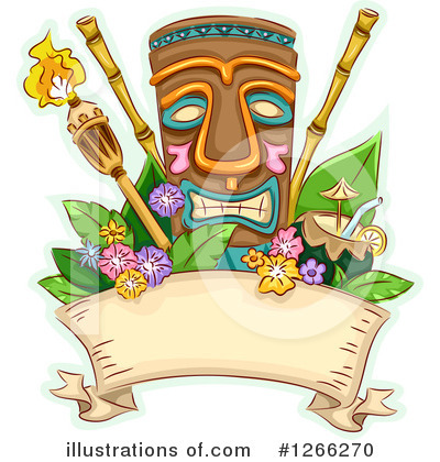 Tiki Clipart #1266270 by BNP Design Studio