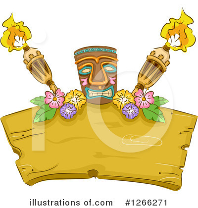 Tiki Torch Clipart #1266271 by BNP Design Studio