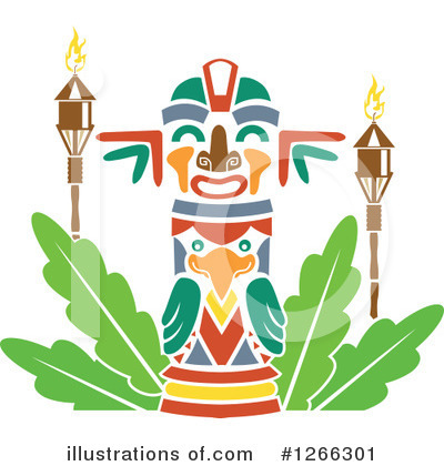 Tiki Torch Clipart #1266301 by BNP Design Studio