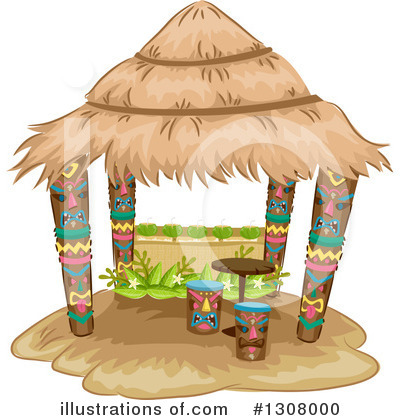 Tiki Clipart #1308000 by BNP Design Studio