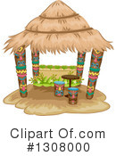 Royalty-Free (RF) Tiki Clipart Illustration #1308000