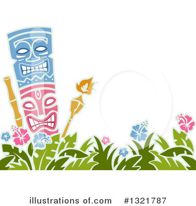 Tiki Torch Clipart #1321787 by BNP Design Studio