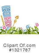 Tiki Clipart #1321787 by BNP Design Studio