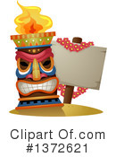 Tiki Clipart #1372621 by BNP Design Studio