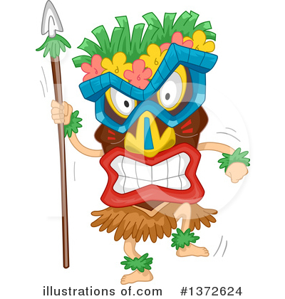 Polynesian Clipart #1372624 by BNP Design Studio