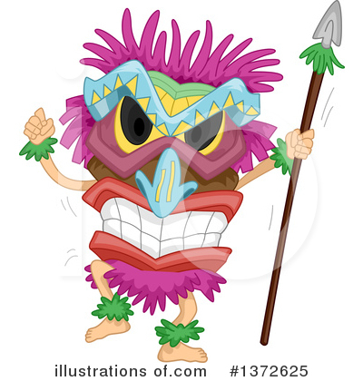 Polynesian Clipart #1372625 by BNP Design Studio