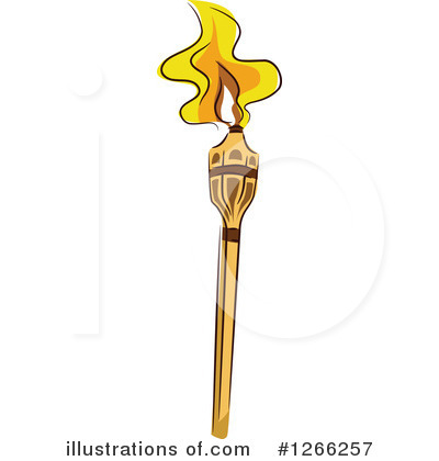 Royalty-Free (RF) Tiki Torch Clipart Illustration by BNP Design Studio - Stock Sample #1266257