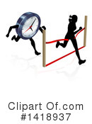 Time Clipart #1418937 by AtStockIllustration