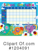Time Table Clipart #1204091 by visekart