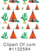 Royalty-Free (RF) Tipi Clipart Illustration #1132584