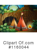 Royalty-Free (RF) Tipi Clipart Illustration #1160044