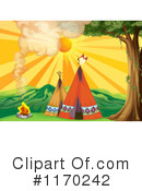 Royalty-Free (RF) Tipi Clipart Illustration #1170242