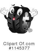 Royalty-Free (RF) tire Clipart Illustration #1145377