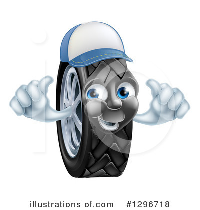 Tire Clipart #1296718 by AtStockIllustration