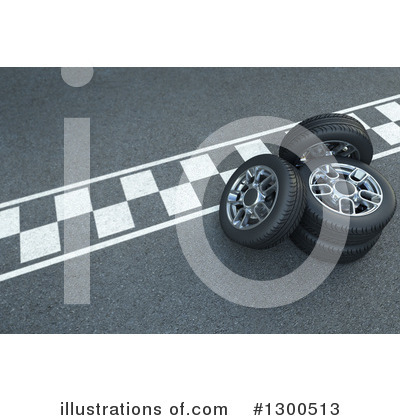 Race Track Clipart #1300513 by Frank Boston