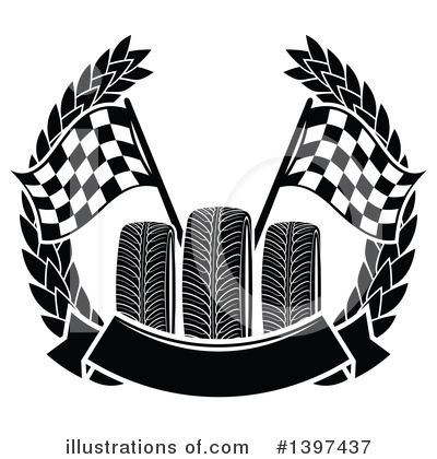 Motorsports Clipart #1397437 by Vector Tradition SM