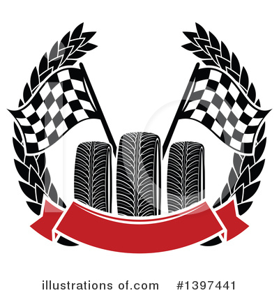 Motorsports Clipart #1397441 by Vector Tradition SM