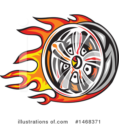 Tire Clipart #1468371 by patrimonio