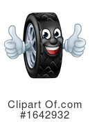 Tire Clipart #1642932 by AtStockIllustration
