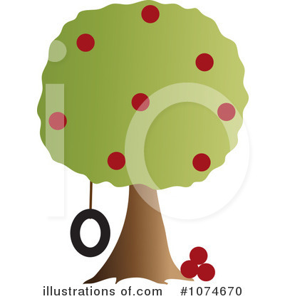 Tree Clipart #1074670 by Pams Clipart