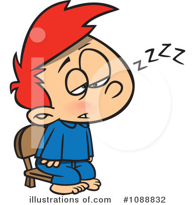 Tired Clipart #1088832 by toonaday