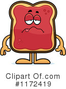 Royalty-Free (RF) Toast And Jam Clipart Illustration #1172419