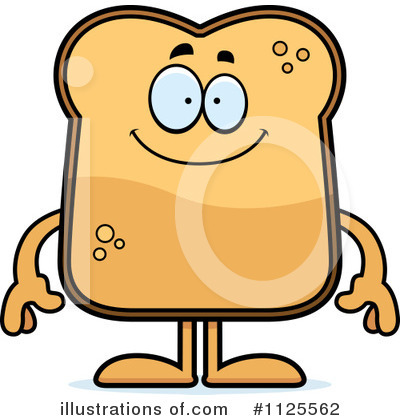 Royalty-Free (RF) Toast Clipart Illustration by Cory Thoman - Stock Sample #1125562