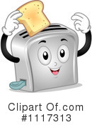 Royalty-Free (RF) Toaster Clipart Illustration #1117313