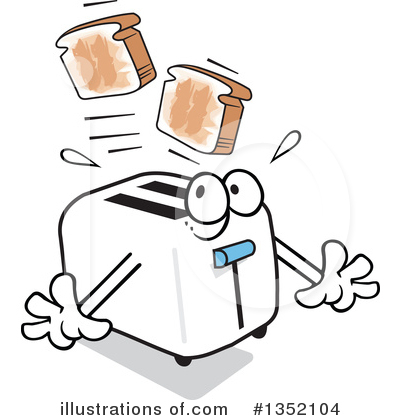 Toast Clipart #1352104 by Johnny Sajem