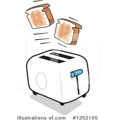 Toast Clipart #1352105 by Johnny Sajem