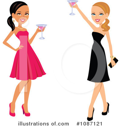 Fashion Clipart #1087121 by Monica