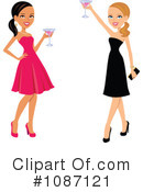 Royalty-Free (RF) toasting Clipart Illustration #1087121