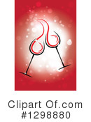 Royalty-Free (RF) Toasting Clipart Illustration #1298880