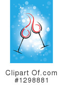 Toasting Clipart #1298881 by ColorMagic