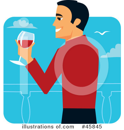 Toasting Clipart #45845 by Monica