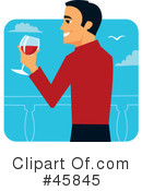 Toasting Clipart #45845