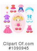 Royalty-Free (RF) Toddler Clipart Illustration #1090945