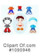 Royalty-Free (RF) Toddler Clipart Illustration #1090946