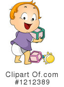 Toddler Clipart #1212389 by BNP Design Studio